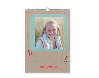 Personalizare Calendar Triptic