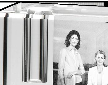 Suport din cristal personalizat pentru stilou