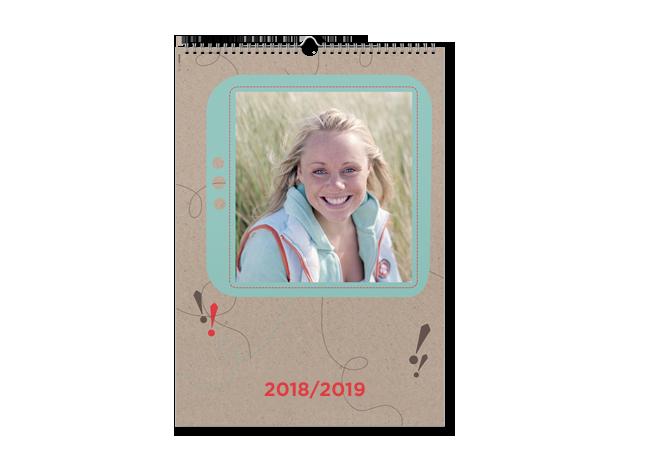 Calendar triptic A3 cu propriile fotografii