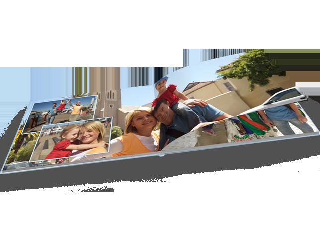 CEWE FOTOCARTE Mare Panoramică pe hârtie fotografică mată copertă tare