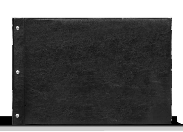 CEWE FOTOCARTE XXL Panoramică - Copertă de piele artificială Neagră