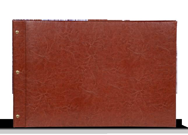 CEWE FOTOCARTE XXL Panoramică - Copertă de piele artificială Maro