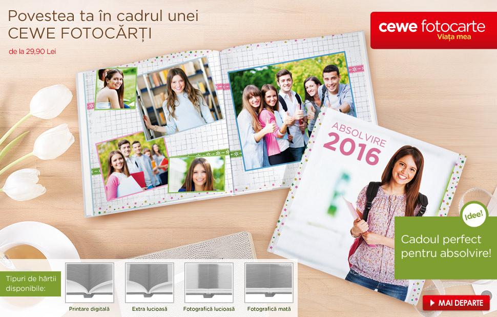Personalizare CEWE FOTOCARTE cu propriile poze