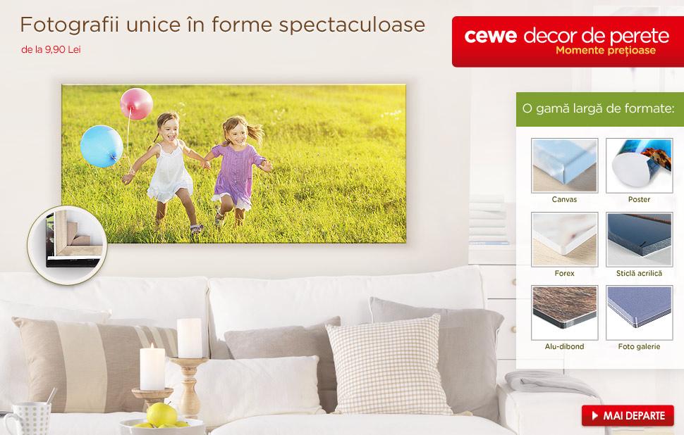Decoraţiuni de perete cu propriile fotografii
