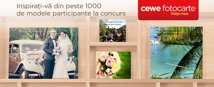 Modele CEWE FOTOCARTE, galerie concurs - Cewe.ro
