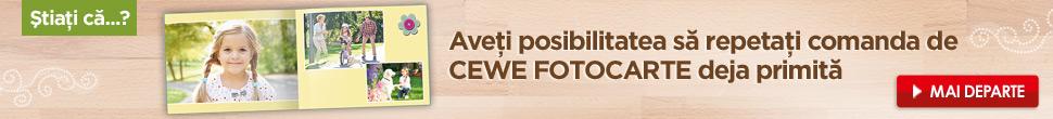 Comandă ulterioara CEWE FOTOCARTE - cewe.ro