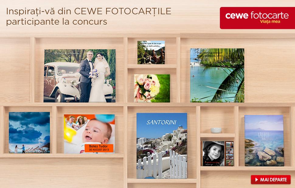 Concurs CEWE FOTOCARTE