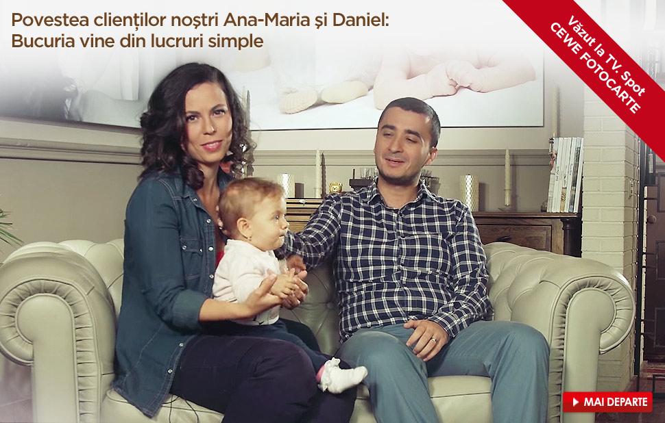 Povestea clienţilor noştri Ana-Marian şi Daniel: Bucuria vine din lucruri simple