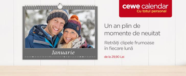 CEWE CALENDAR - Un an plin de momente de neuitat  - Cewe.ro