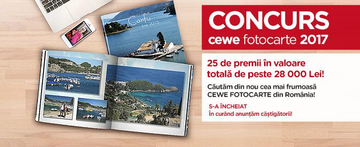 Concurs CEWE FOTOCARTE 2017- Cewe.ro