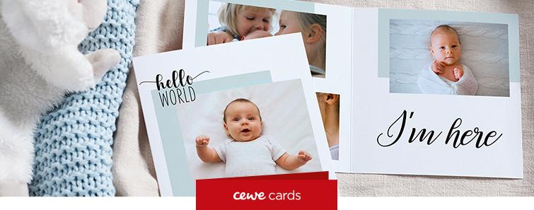 Realizare, comandă felicitări personalizate cu fotografiile proprii - Cewe.ro