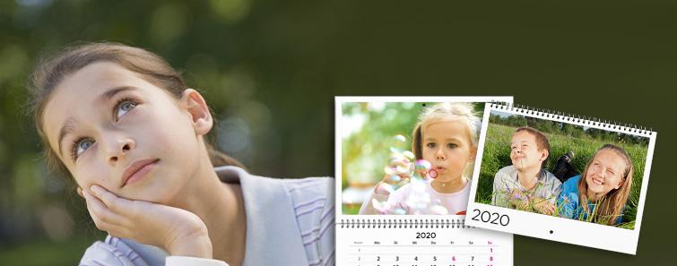 Calendar A2 triptic tip agendă cu propriile poze - Cewe.ro
