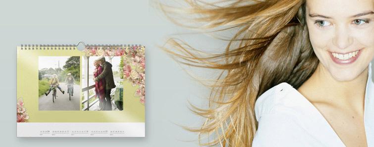 Personalizare Calendar de perete A4 panoramic, portret - Cewe.ro