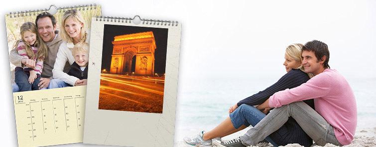 Comandă online Calendar de perete A3 cu poze - Cewe.ro