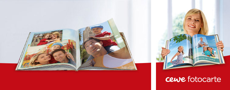 CEWE FOTOCARTE XL personalizată- Cewe.ro