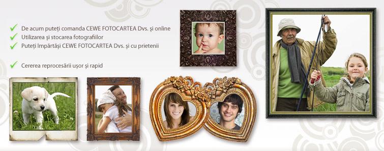 Galeria mea, Galeria fotografiilor personale - Cewe.ro