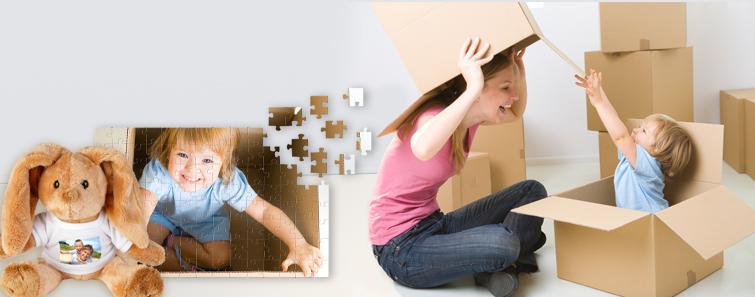 Jucării personalizate cu poze pentru copii - Cewe.ro