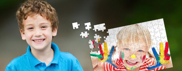 Fotografia preferată, subheadline: în formă de puzzle cu 20x30 cm