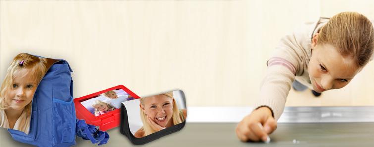 Personalizare, comandă rechizite şcolare cu propria fotografie - Cewe.ro
