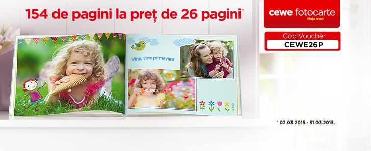 Pagini suplimentare gratuite in CEWE FOTOCARTE - Cewe.ro