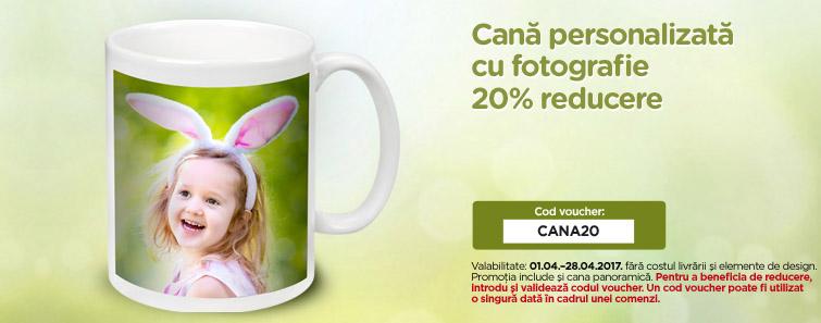 Realizare cană cu poză personalizată - Cewe.ro