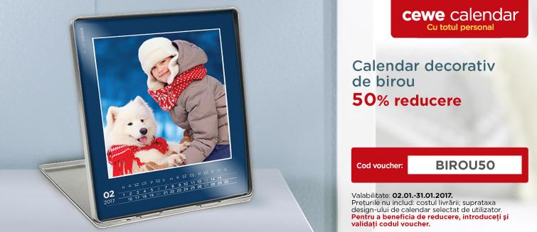 Calendar decorativ de birou editare, personalizare - Cewe.ro