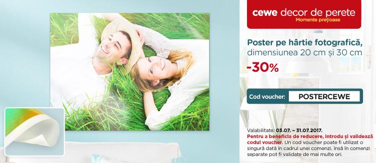 Poster pe hârtie fotografică dimensiunea 20 și 30 cm -30%