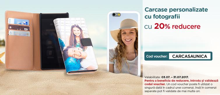 Carcase personalizate cu fotografii -20%