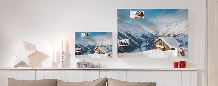 Calendar de advent cu fotografie