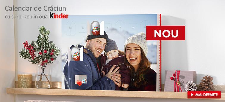 Calendar de Crăciun cu surprize de ouă Kinder®