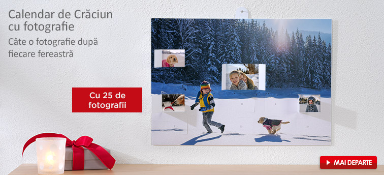 Calendar de advent cu fotografie