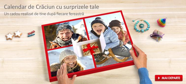 Calendar de advent cu propriile surprize