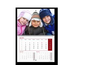 Creare Calendar A2 tip agendă triptic