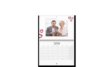 Calendar spiralat A2 tip agendă