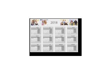 Agendă calendaristică anuală