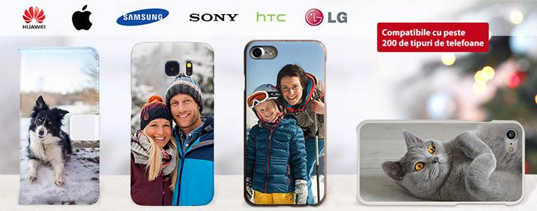 Carcase cu poză pentru smartphone-uri şi tablete