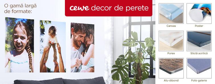 Decoraţiuni de perete personalizate - Cewe.ro