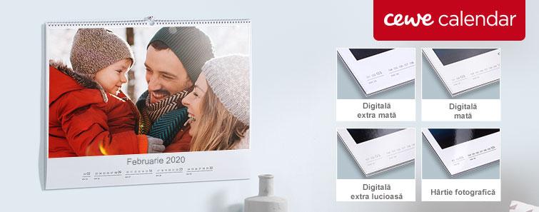 Printare Foto Calendare, Calendar personalizat cu fotografii