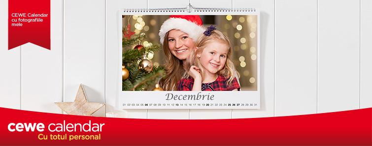 Calendar personalizat cu cele mai bune fotografii - Cewe.ro