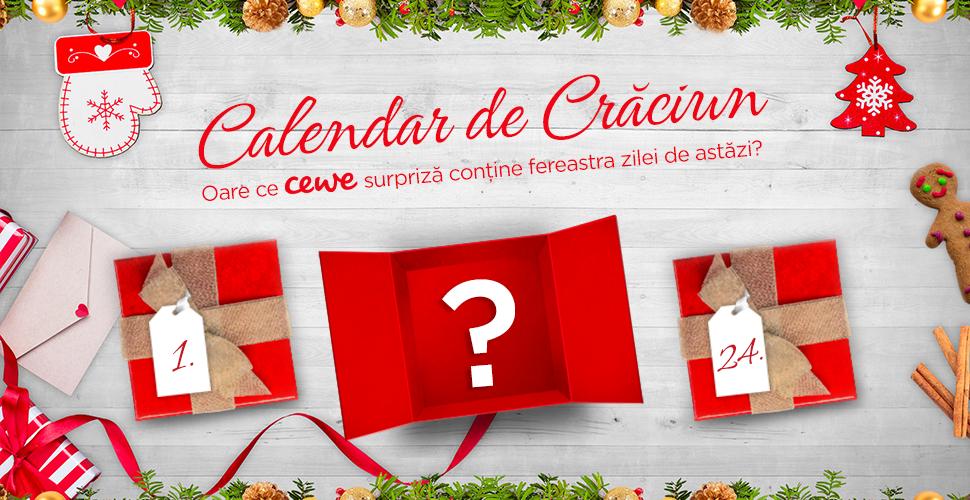 Calendar de Crăciun - Oare ce cewe surpriză conține fereastra zilei de astăzi?