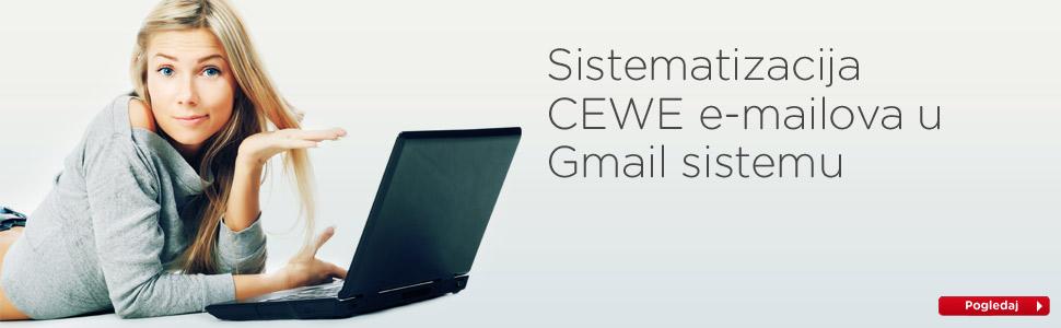 Sistematizacija CEWE e-mailova u Gmail sistemu