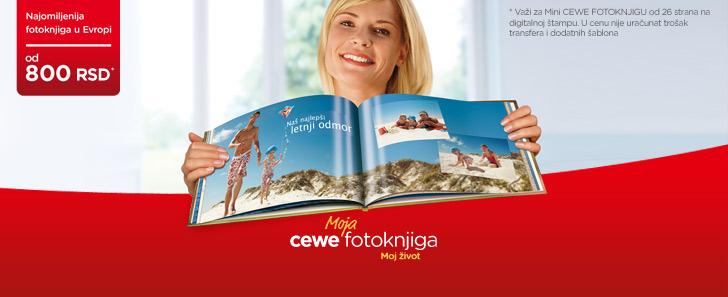 CEWE Fotoknjiga