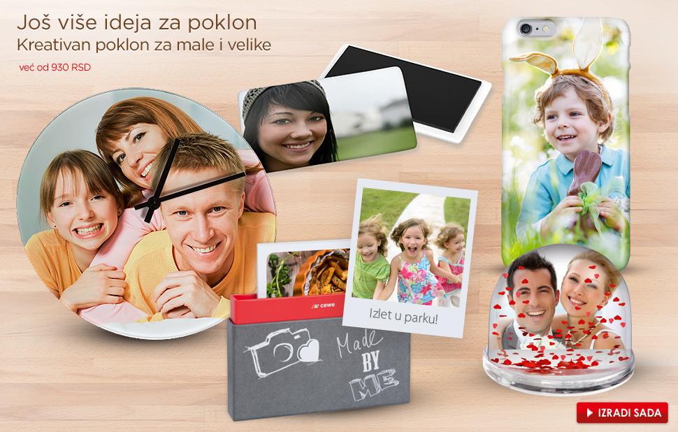 izbor CEWE Foto poklona