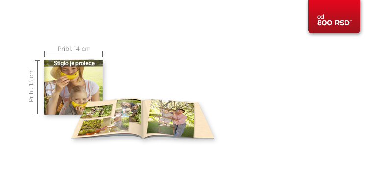 CEWE FOTOKNJIGA mala knjižica