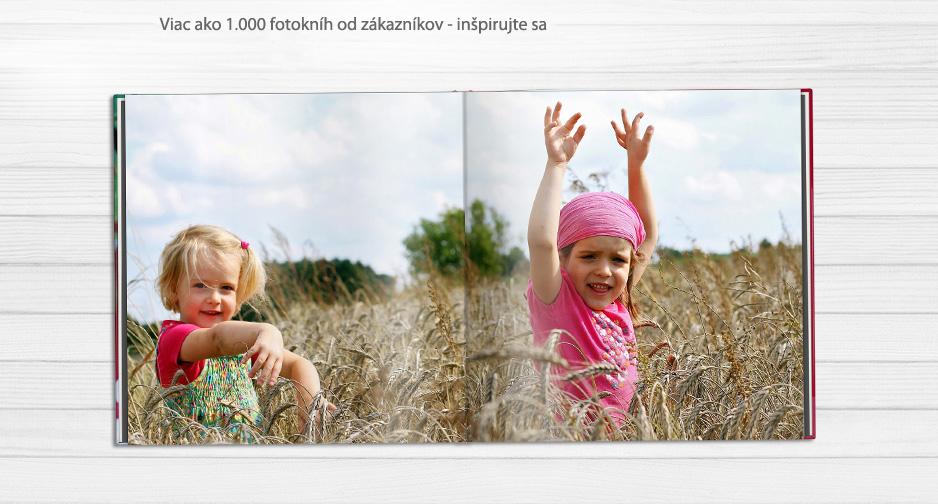 Inšpirujte sa príkladmi fotokníh od našich zákazníkov
