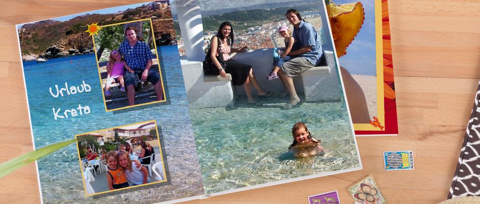CEWE FOTOKNIHA Veľká s motívom rodinnej dovolenky