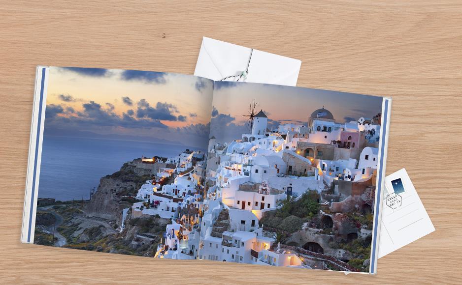 Grécko CEWE FOTOKNIHA XL v tvrdej väzbe