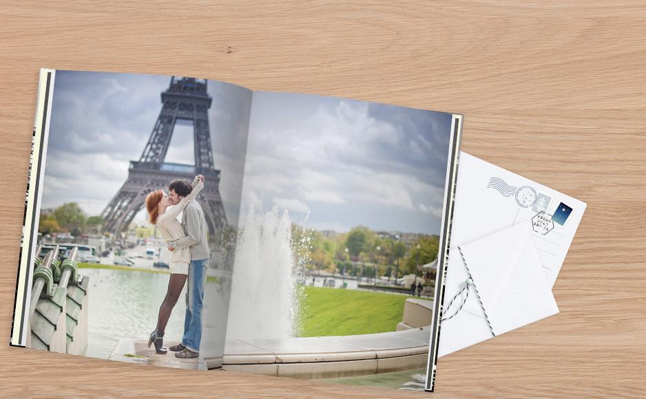 CEWE FOTOKNIHA z Paríža v XXL formáte a tvrdej väzbe