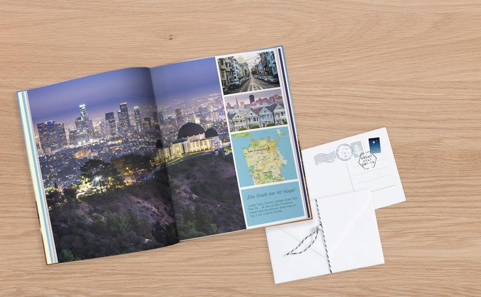 San Francisco CEWE FOTOKNIHA Veľká v knižnej forme