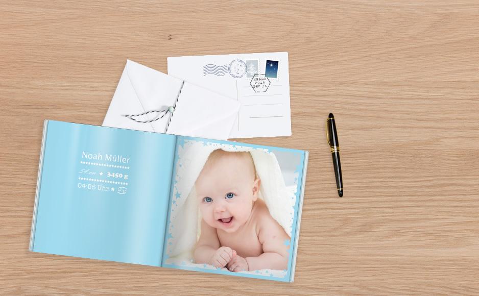CEWE FOTOKNIHA baby v knižnej forme